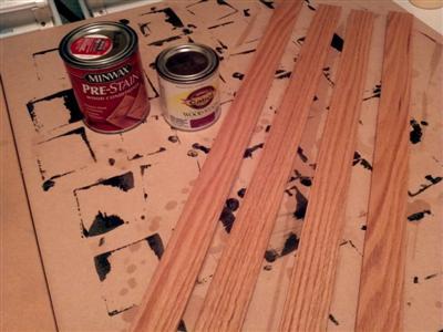 Oak trim (pre-stain)