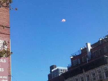 UFO over Manhattan October 13, 2010